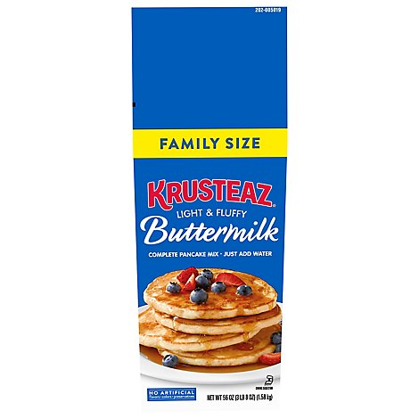 Krusteaz Comp Buttermilk Mix - 56 Oz