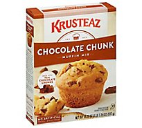 Krusteaz Muffin Mix Supreme Chocolate Chunk - 18.25 Oz