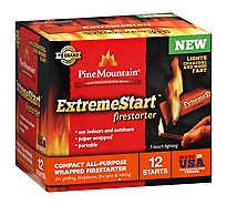 Pine Mountain ExtremeStart Fire Starters Compact All-Purpose Wrapped - 12 Count