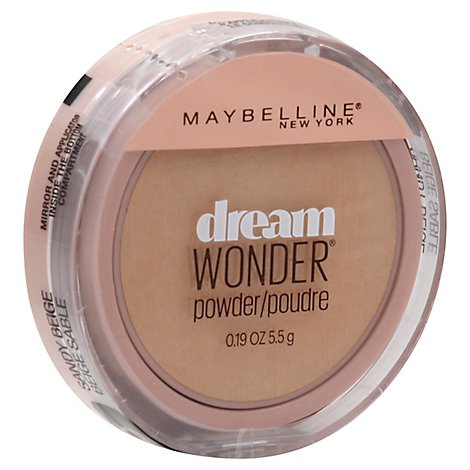 Maybelline Dream Wonder Pwdr Sandy Beige - .19 Oz