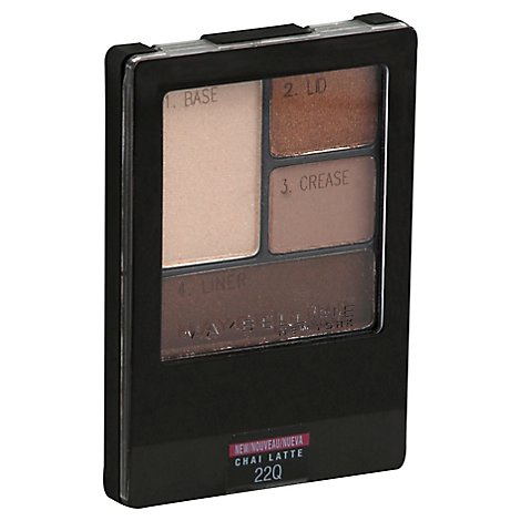 Maybelline Expert Wear Quad Chai Latte - .17 Oz