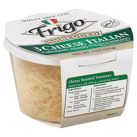Frigo Cheese 3 Cheese Italian Shredded - 5 Oz
