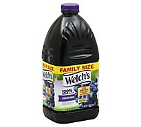 Welchs 100% Juice Grape Concord Grape - 96 Fl. Oz.