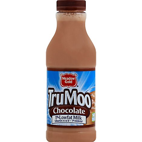 TruMoo Milk Chocolate Milk Lowfat 1% - 1 Pint
