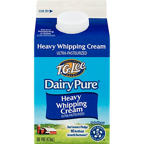 Dairy Pure Whipping Cream Heavy Cream 36% - 1 Pint