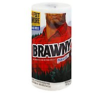 Brawny Paper Towels Pick-A-Size Big Roll 2-Ply Wrapper - 1 Roll
