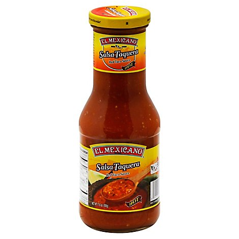 El Mexicano Salsa Taquera Bottle - 17.6 Oz