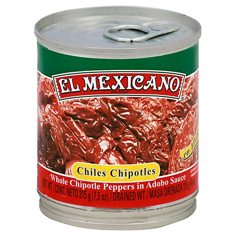 El Mexicano Chipotle Pepper Chili - 7.5 Oz