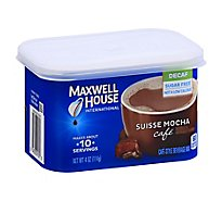 Maxwell House International Beverage Mix Cafe-Style Sugar Free Suisse Mocha Cafe Decaf - 4 Oz