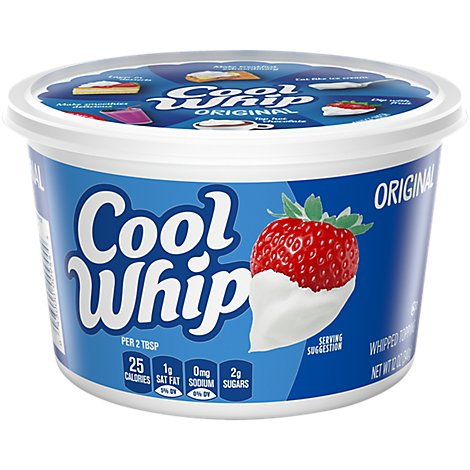 Cool Whip Whipped Topping - 12 Oz