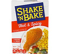 Shake N Bake Seasoned Coating Mix Hot & Spicy - 4.75 Oz
