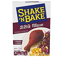 Shake N Bake Seasoned Coating Mix BBQ Glaze - 6 Oz