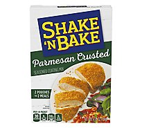 Shake N Bake Seasoned Coating Mix Parmesan Crusted - 4.75 Oz