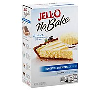 JELL-O No Bake Dessert Mix Homestyle Cheesecake - 11.2 Oz