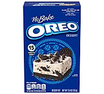JELL-O No Bake Dessert Mix OREO - 19.6 Oz
