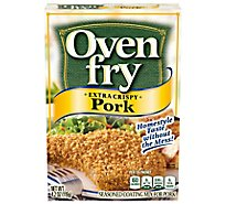 Oven Fry Seasoned Coating Mix For Pork Extra Crispy - 4.2 Oz
