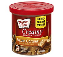 Duncan Hines Creamy Frosting Salted Caramel - 16 Oz