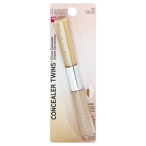Physicians Formula Conceal Twin Cream Yellow/Light - 0.24 Oz