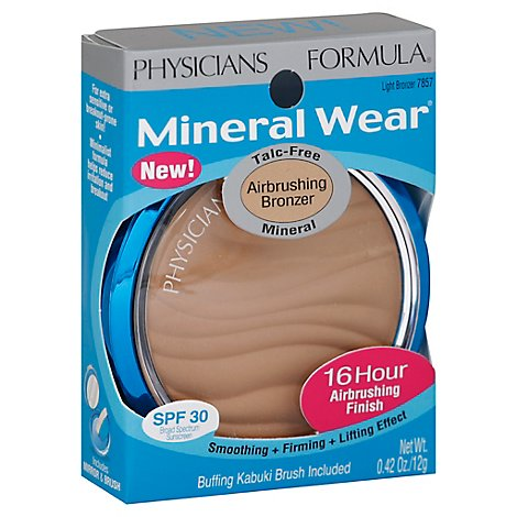 Physicians Formula Min Wear Airbrush Light Bronze - 0.26 Oz