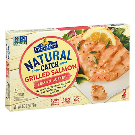 Gortons Grl Salmon Lemon/B 6.3 Oz - 6.3 Oz