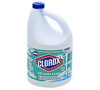 Clorox Bleach Concentrated Splash Less Clean Linen Jug - 116 Fl. Oz.