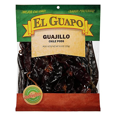 El Guapo Guajillo Chili Pods - 5.5 Oz