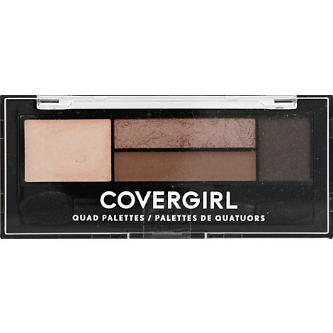 COVERGIRL Eye Shadow Quads 4-Kit Notice Me Nudes 700 - 0.06 Oz
