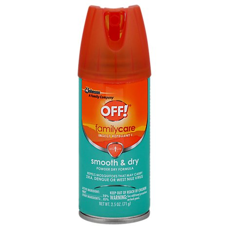 OFF! FamilyCare Insect Repellent I Smooth & Dry - 2.5 Oz