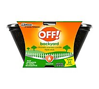 OFF! Triple Wick Citronella Candle 23 oz