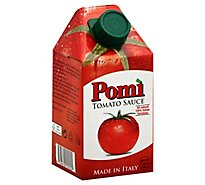 Pomi Tomatoes 100% Italian All Natural Tomato Sauce - 17.64 Oz