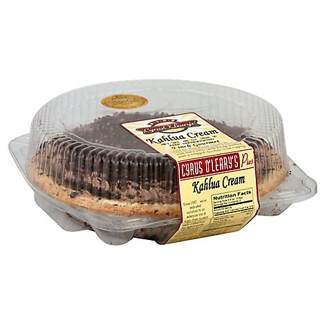 Bakery Pie 8 Inch Kahlua Cream Cyrus - Each
