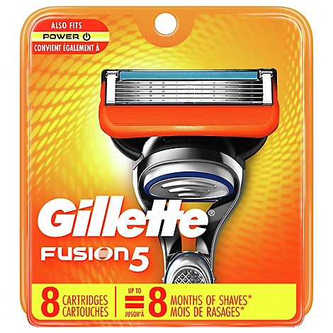 Gillette Fusion Power Cartridges - 8 Count
