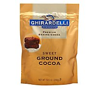 Ghirardelli Chocolate Baking Cocoa Premium Ground Cocoa Sweet - 10.5 Oz