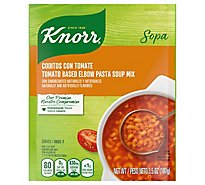 Knorr Soup Mix Pasta Elbow Tomato Based - 3.5 Oz
