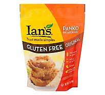 Ians Bread Crumbs Original Panko Gluten Free - 7 Oz