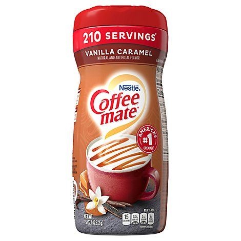 Coffee mate Coffee Creamer Powder Vanilla Caramel - 15 Oz