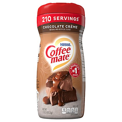 Coffeemate Coffee Creamer Powder Creamy Chocolate - 15 Oz