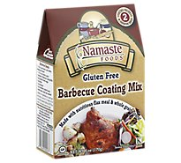 Namaste Coating Mix Gluten Free Barbecue - 6 Oz