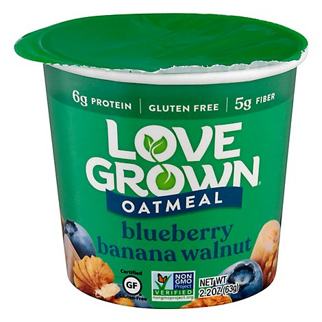 Love Grown Oats Hot Blueberry Banana Walnut - 2.22 Oz