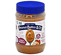 Peanut Butter & Co Peanut Butter Spread Mighty Maple - 16 Oz