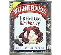 Duncan Hines Wilderness Pie Filling & Topping Blackberry Premium - 21 Oz