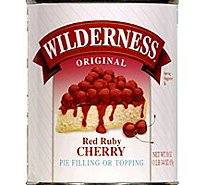 Duncan Hines Wilderness Pie Filling & Topping Rud Ruby Cherry - 30 Oz