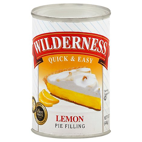 Duncan Hines Wilderness Pie Filling & Topping Lemon - 15.75 Oz
