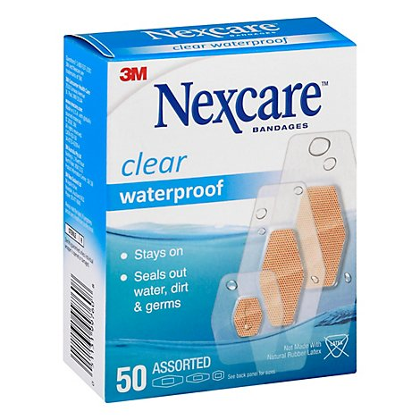 Nexcare Waterproof Bandages - 50 Count