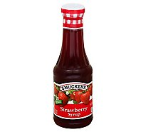 Smuckers Strawberry Syrup - 12 Fl. Oz.