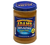 Adams Peanut Butter Creamy - 36 Oz