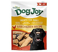 Freshpet Dog Joy Dog Treats Real Chicken Recipe Pouch - 8 Oz
