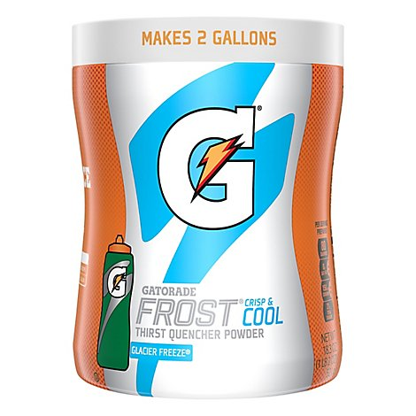 Gatorade Thirst Quencher Instant Powder Mix Frost Glacier Freeze - 18.3 Oz