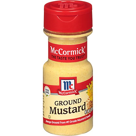 McCormick Mustard Ground - 1.75 Oz