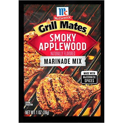 McCormick Grill Mates Marinade Mix Smoky Applewood - 1 Oz